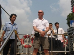 Lokalbåt i Bangkok
