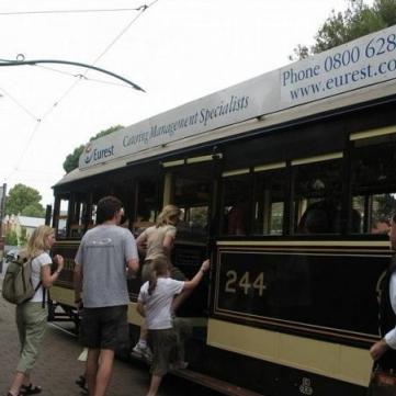 614 Tramride i Christchurch
