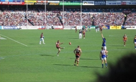 Adelaide. AAMI Actionbild från match