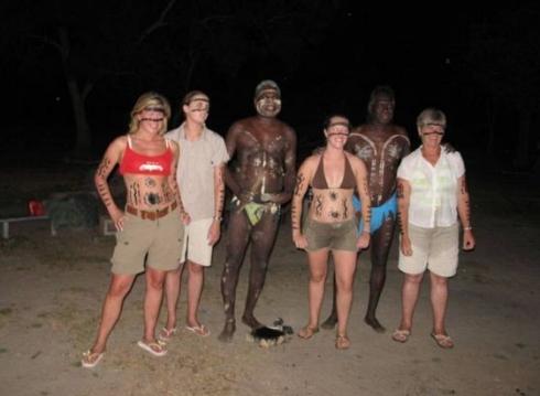 Målad av aboriginer