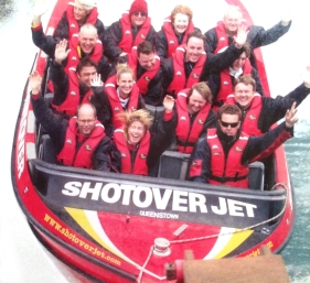 "Shotover Jet, Queenstown. ""360 Shotover Jet Spin"" 1 Mars 2005."