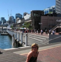 Sydney. Darling harbour Erja
