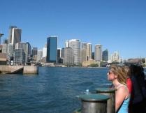 Sydney. På väg mot Manly