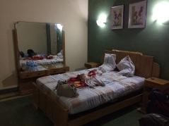 Rummet på Casa Gonzales.