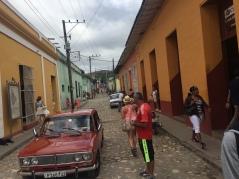 Promenad i Trinidad.