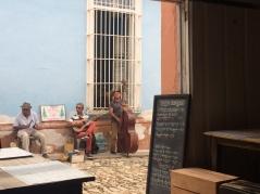 Kubanska musikanter.