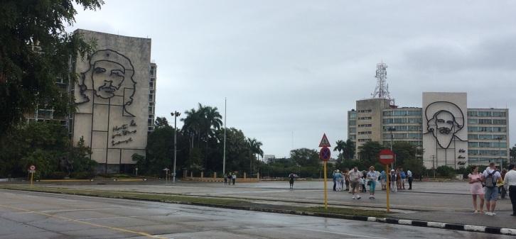 Revolution Square - Che Guevara Fidel Castro