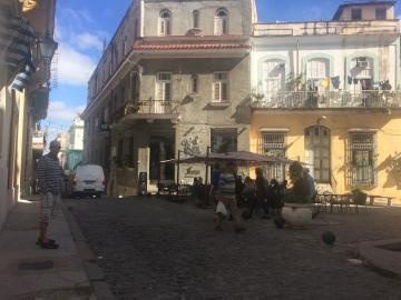 Cafe del Angel torget.